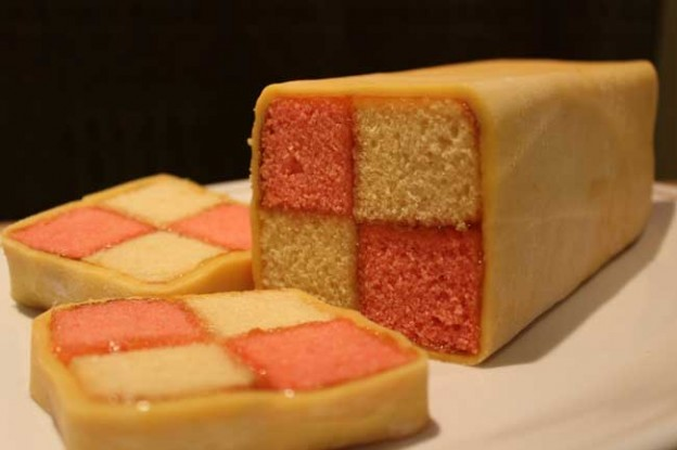 Battenberg Cake Easier Than It Looks The Thrifty