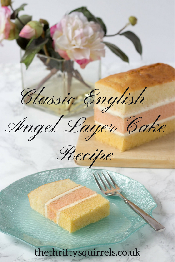 Angel Layer Cake Recipe A Traditional English Cake With 3