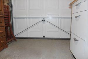 draught proof your garage door