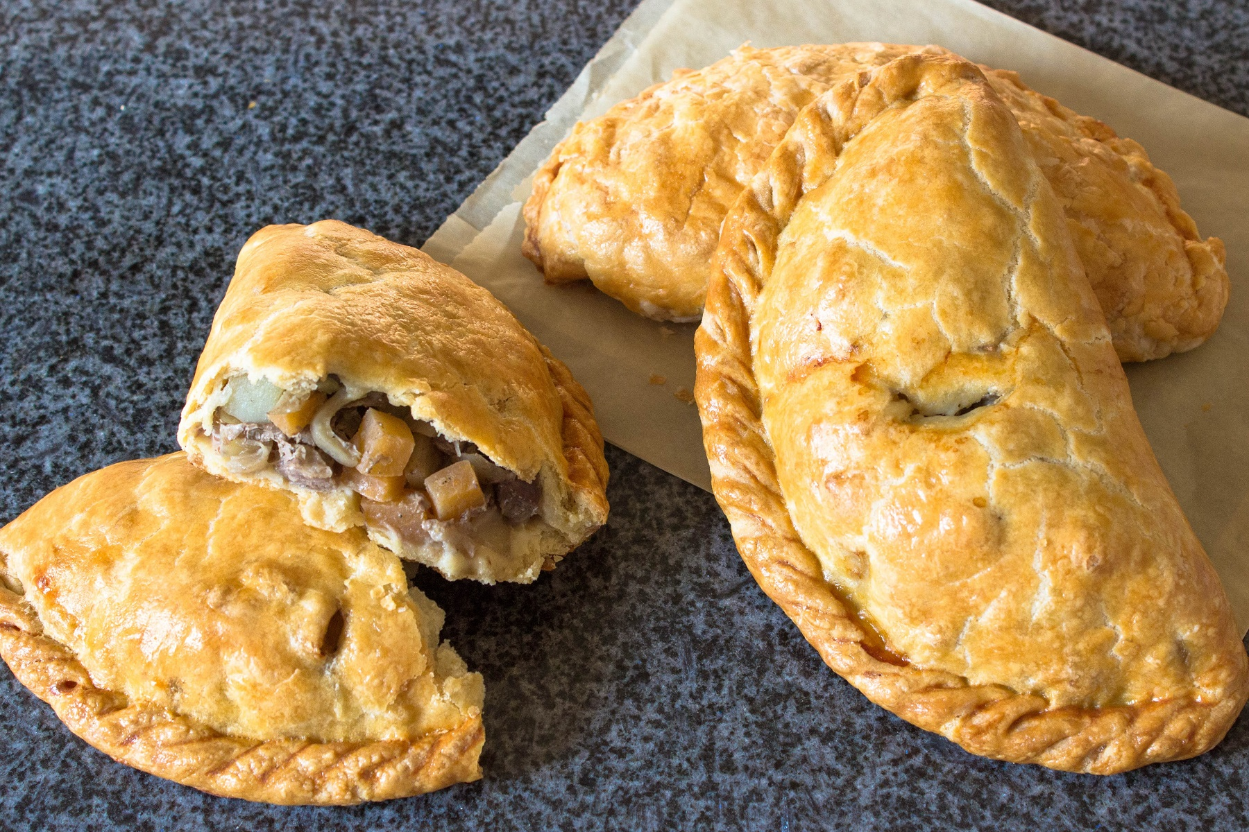 The classic recipe for pasties 79
